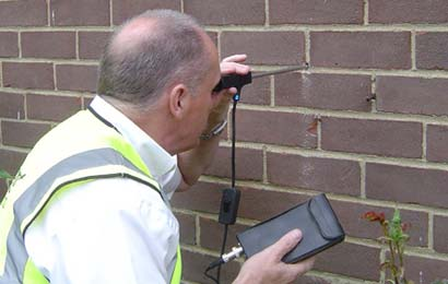 spouwmuur inspecteren Wetteren